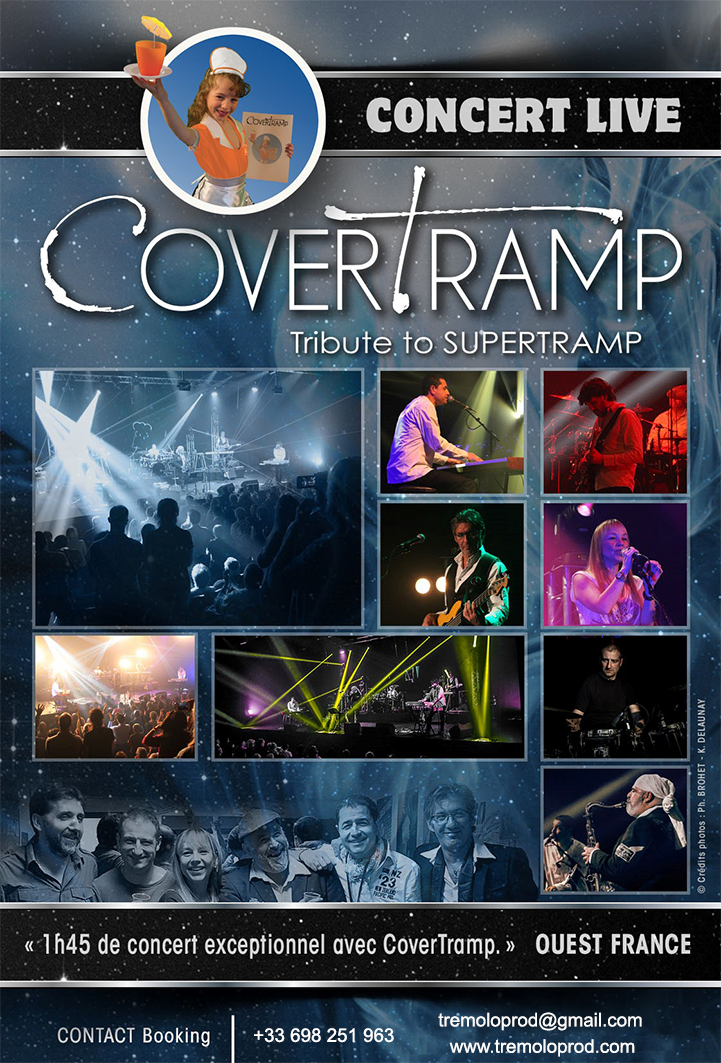 SUPERTRAMP TRIBUTE - COVERTRAMP